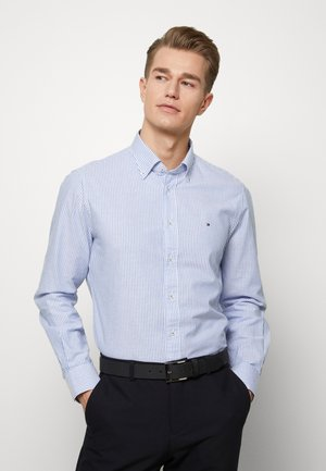 WASHED STRIPE BUTTON DOWN  - Shirt - blue
