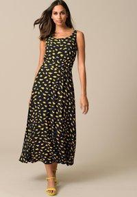 Alba Moda - Maxi dress - schwarz gelb - 3