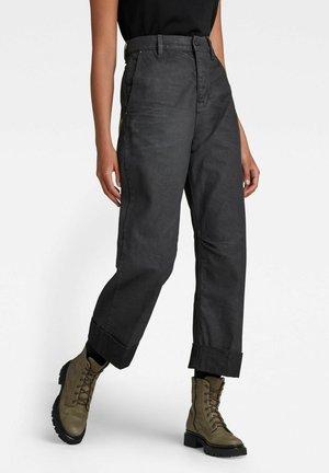 EVE 3D WIDE LEG  - Straight leg jeans - vintage slate cobler
