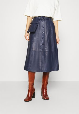 FALLYN SKIRT - A-Linien-Rock - peacoat