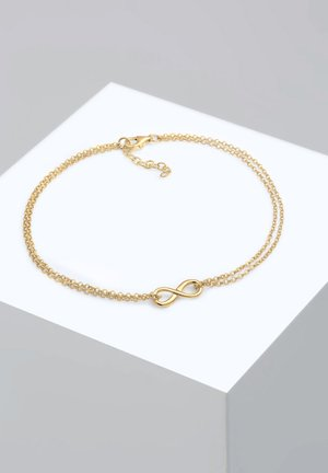 INFINITY SYMBOL ZEICHEN - Bracelet - gold-coloured