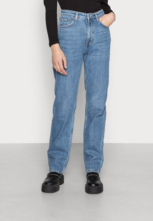 VOYAGE - Straight leg jeans - rain blue