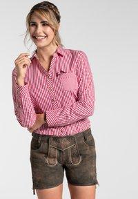 Spieth & Wensky - MIA - Leather trousers - braun - 4