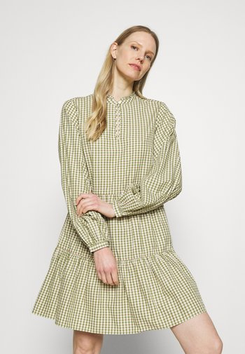 DRESS WIDE SLEEVES - Day dress - multi/fresh