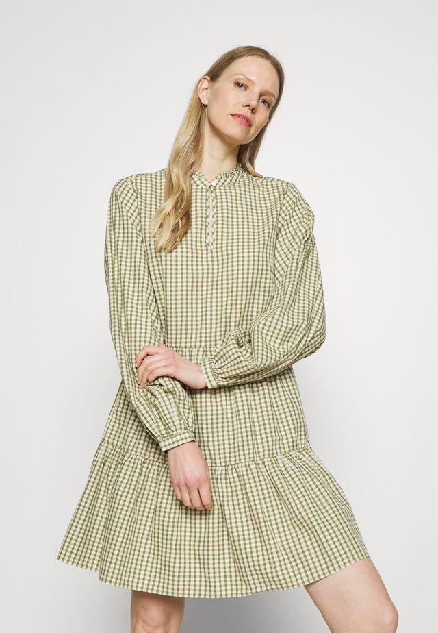 DRESS WIDE SLEEVES - Korte jurk - multi/fresh