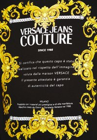 Versace Jeans Couture - MOUSE - T-shirt print - black - 5