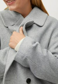 Violeta by Mango - CRUZA - Short coat - hellgrau meliert - 4