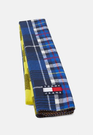 HERITAGE SCARF CHECK - Scarf - blue