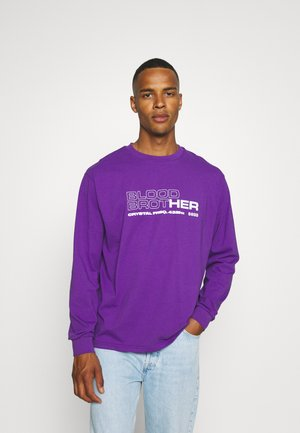 UNISEX MIDWAY TEE - Långärmad tröja - african violet