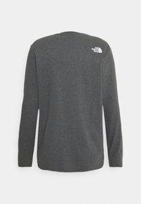 The North Face - STANDARD TEE - Long sleeved top - medium grey heather - 1