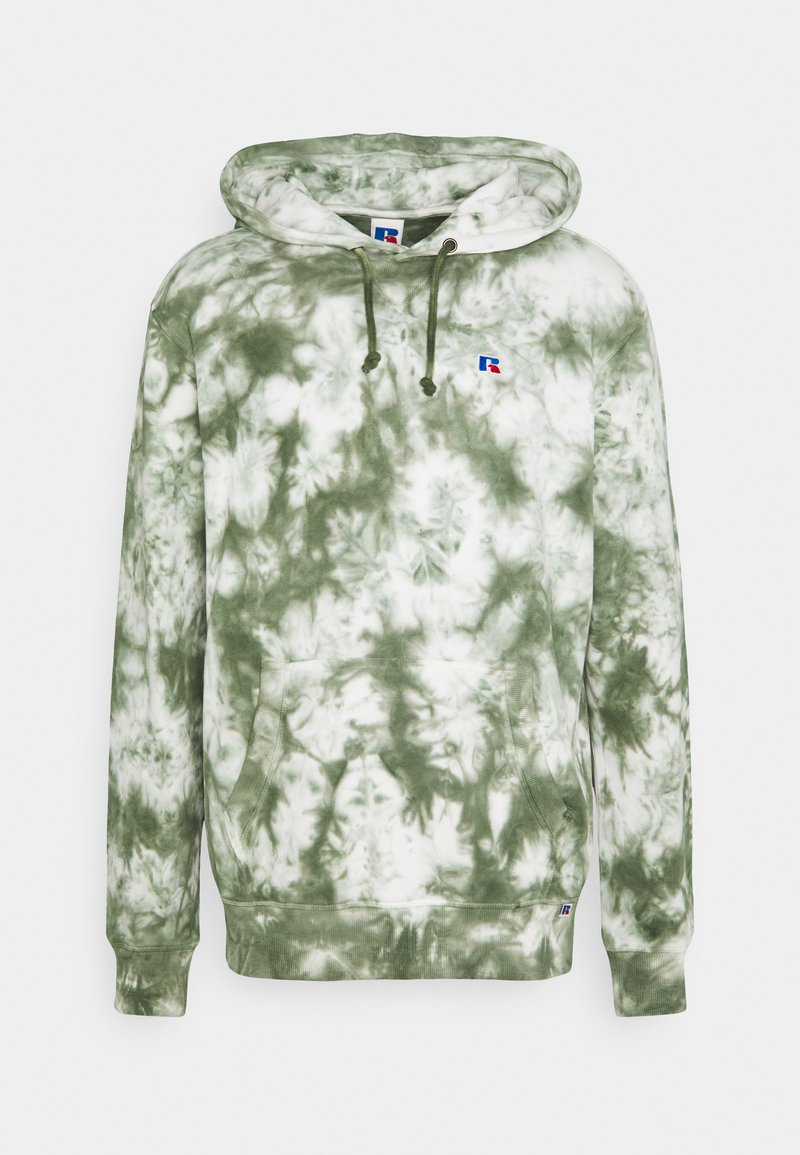 Russell Athletic Eagle R - RIVER MODERN HOODY UNISEX - Hoodie - four leav clover