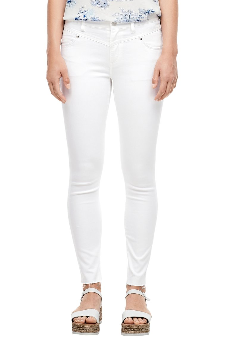 s.Oliver - Jeans Skinny Fit - white