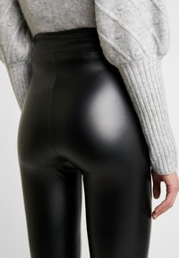 Cotton On - CHELSEA HIGH WAISTED - Leggings - Trousers - black - 4