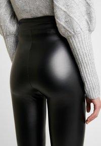 Cotton On - CHELSEA HIGH WAISTED - Leggings - black - 4