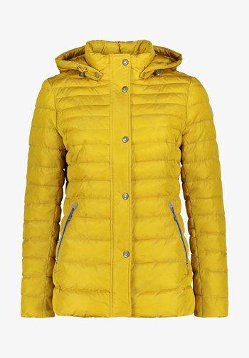 Winter jacket - mustard gold