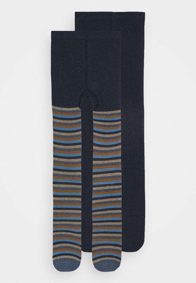 UNISEX 2 PACK  - Collant - blue