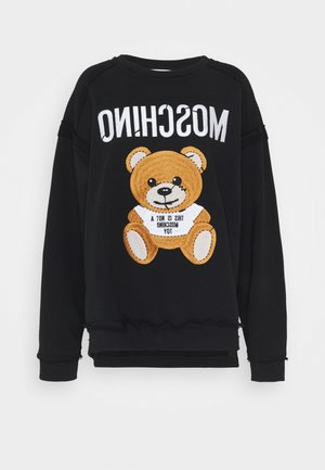 Sweatshirt - fantasy print black