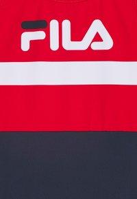 Fila - MARIE SWIMSUIT SWIMWEAR - Swimsuit - black iris/true red/bright white - 2
