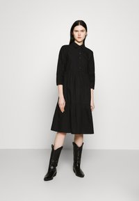 JDY - JDYULLE DRESS  - Shirt dress - black - 1