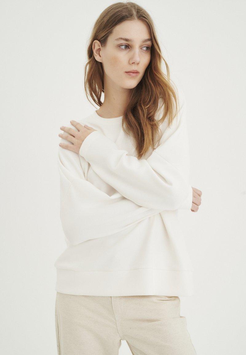 InWear - UNITA - Sweatshirt - whisper white