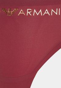 Emporio Armani - THONG - Thong - melograno pomegranate - 2