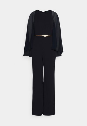 LUXE TECH JUMPSUIT - Jumpsuit - lighthouse navy