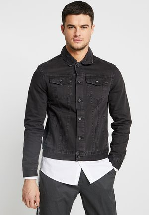 UNISEX RODEO JACKET - Veste en jean - distressed black