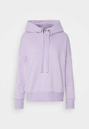 LONGSLEEVE HOODED - Sweatshirt - peached purple