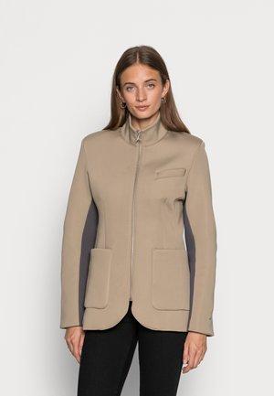 NEW CLASSICS SUIT  - Short coat - khaki/thunder grey