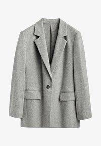 Massimo Dutti - MIT EIN KNOPF VERSCHLUSS  - Short coat - grey - 0
