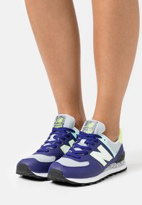 New Balance - WL574 - Sneakers basse - virtual violet - 0