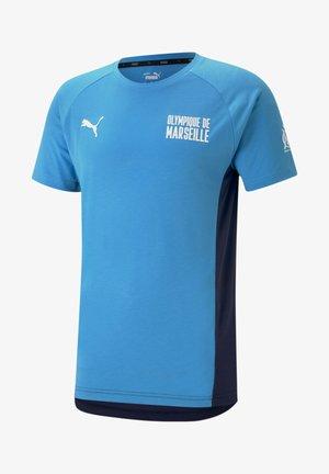 Print T-shirt - bleu azur-peacoat