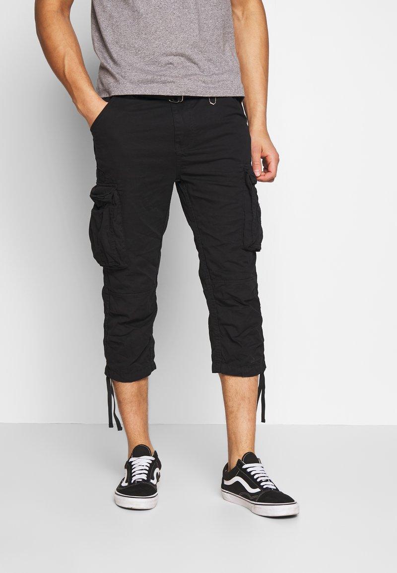 Schott - TRRANGER - Shorts - black