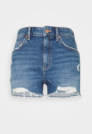 ROSIE - Denim shorts - blue denim