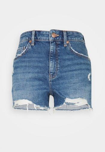 ROSIE - Denim shorts - blue denim