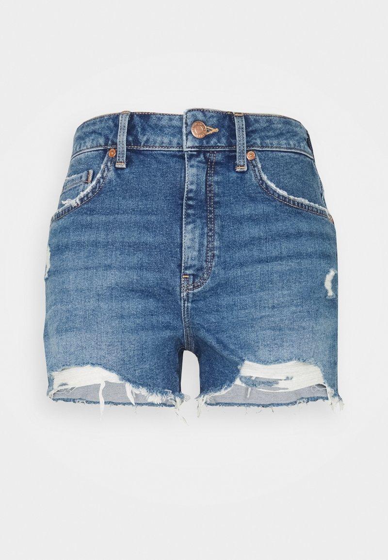 Mavi - ROSIE - Szorty jeansowe - blue denim