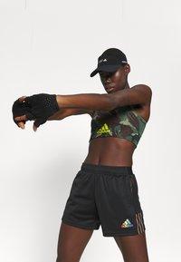 adidas Performance - TIRO PRIDE - Pantalón corto de deporte - black - 3