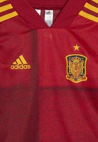 adidas Performance - SPAIN FEF HOME JERSEY MINI - Equipación de selecciones - victory red - 5
