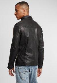Gipsy - G2BAINIGO SF LABONV - Leather jacket - black - 2