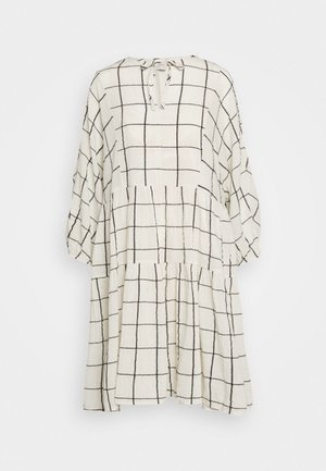 DENCIA - Day dress - off-white/navy