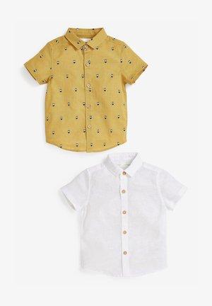 2 PACK  - Shirt - yellow, white