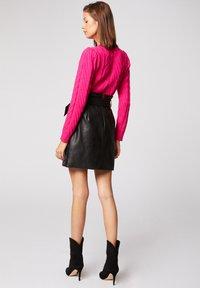 Morgan - Pullover - neon pink - 2