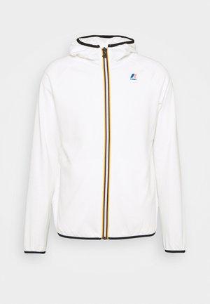 LE VRAI UNISEX - Zip-up sweatshirt - white