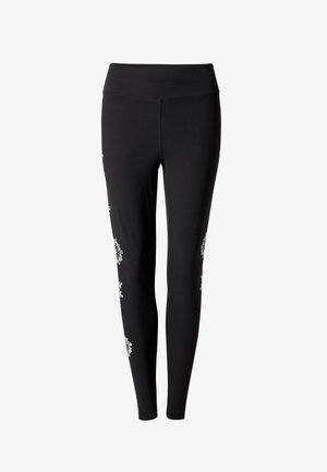 MANDALA SWISS EMBRO - Legging - black