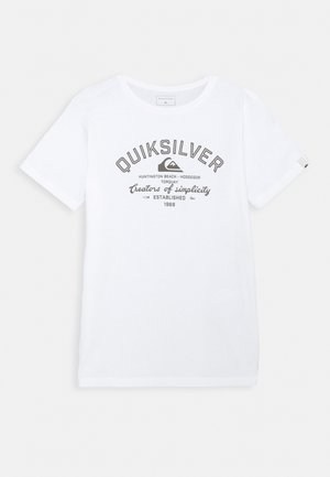 SCREEN TEE - Print T-shirt - white