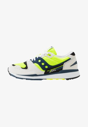 AZURA - Sneakers basse - white/citron/denim