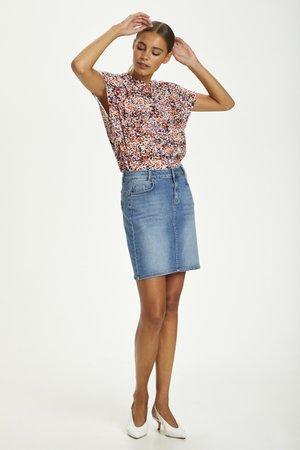 DHFLEUR SS SHIRT - Button-down blouse - wild aster