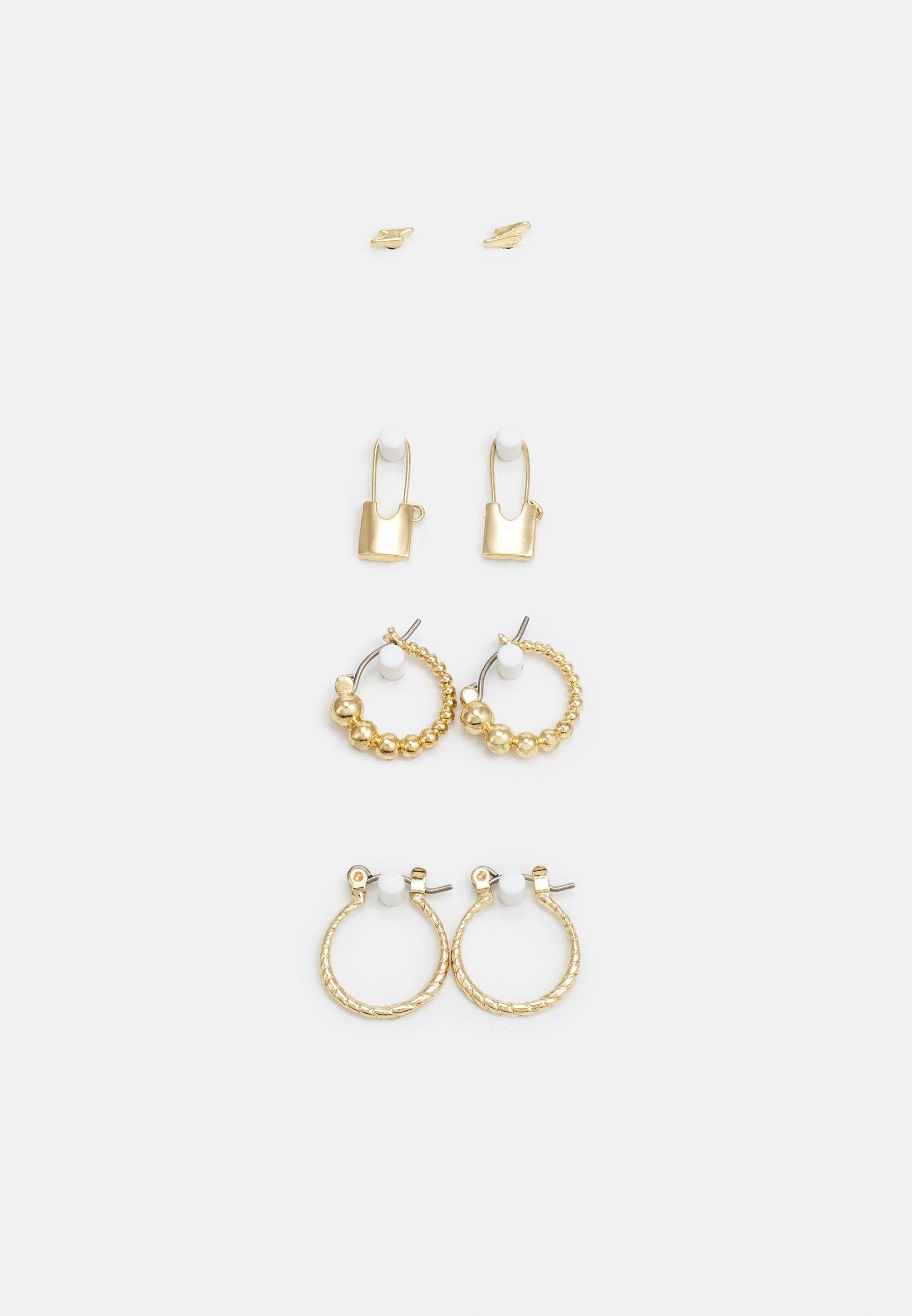 Women PCLAISE EARRINGS 4 PACK - Earrings