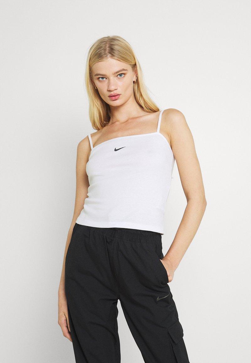 Nike Sportswear - TANK CAMI - Débardeur - white/black