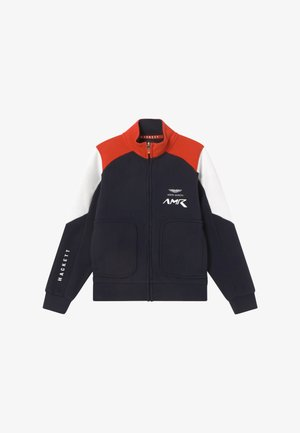 AMR MOTO - Sweatjacke - navy/red